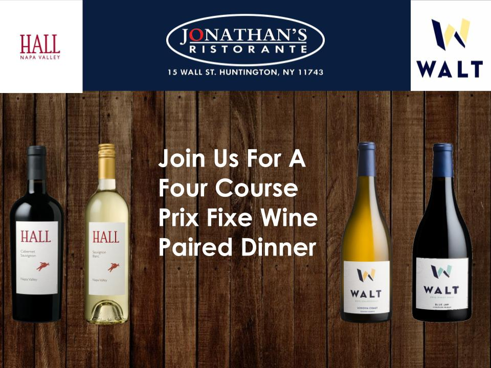 Hall & Walt Wines Event