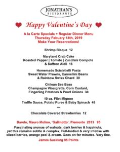 valentine's day in Huntington